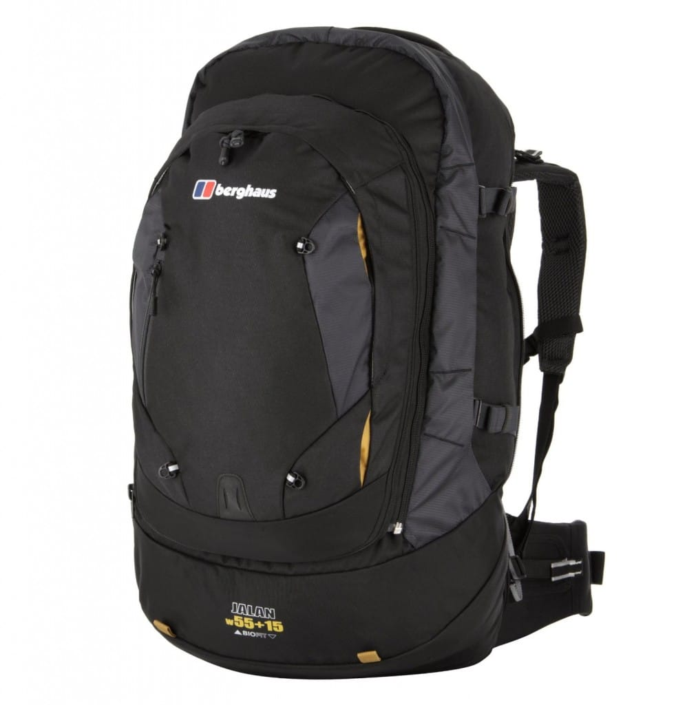Berghaus backpack woman fit