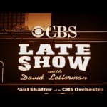 Lettermans late show sign