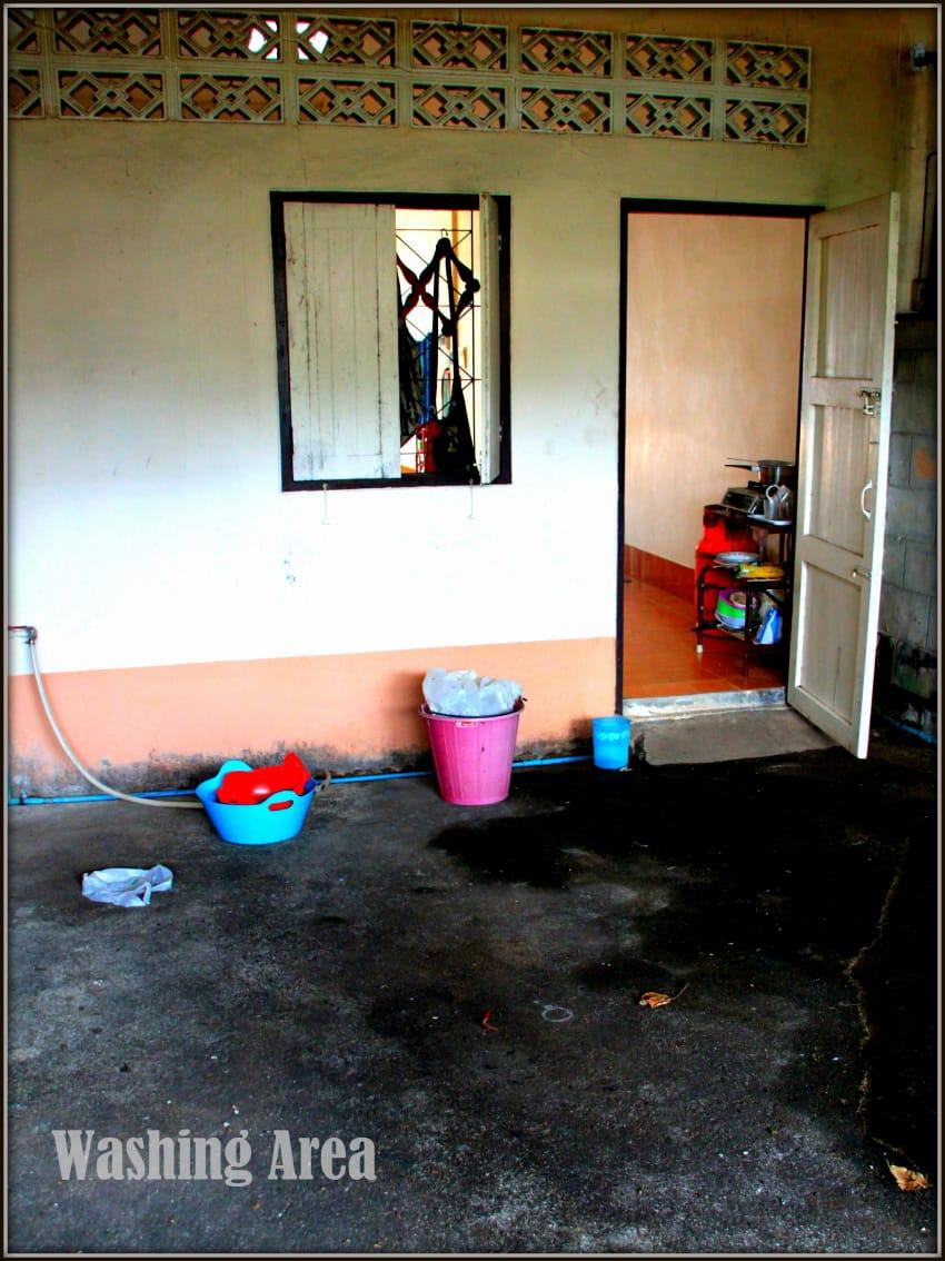 12 washing area