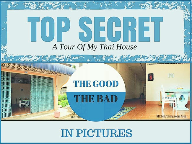 Living in Thailand: A Tour Of My Thai House in Pictures