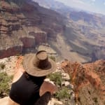 Beautiful perspective of the majestic Grand Canyon