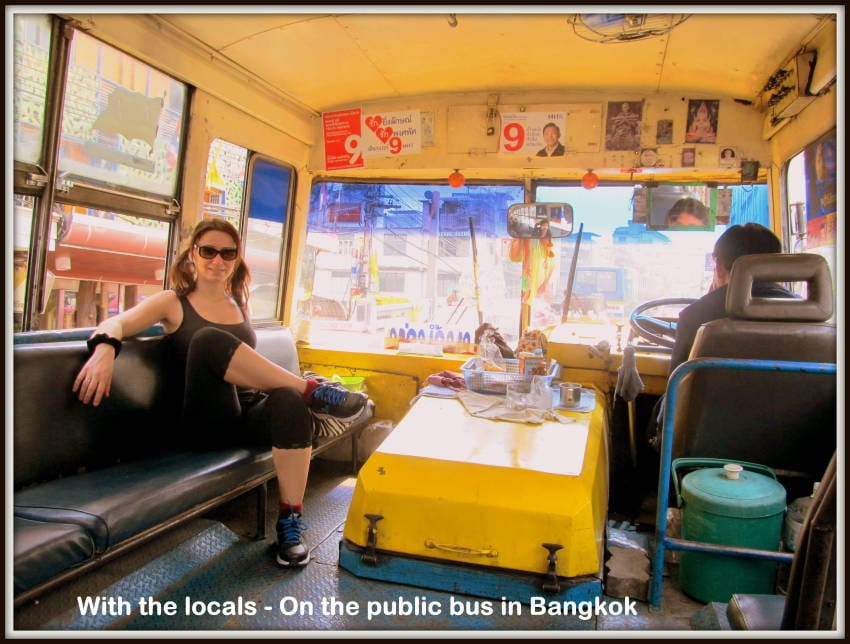 public pus transportation in bangkok guide for tourists travelers. how to visit bangkok by bus