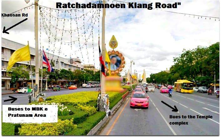 Bus road bangkok OK PICASA