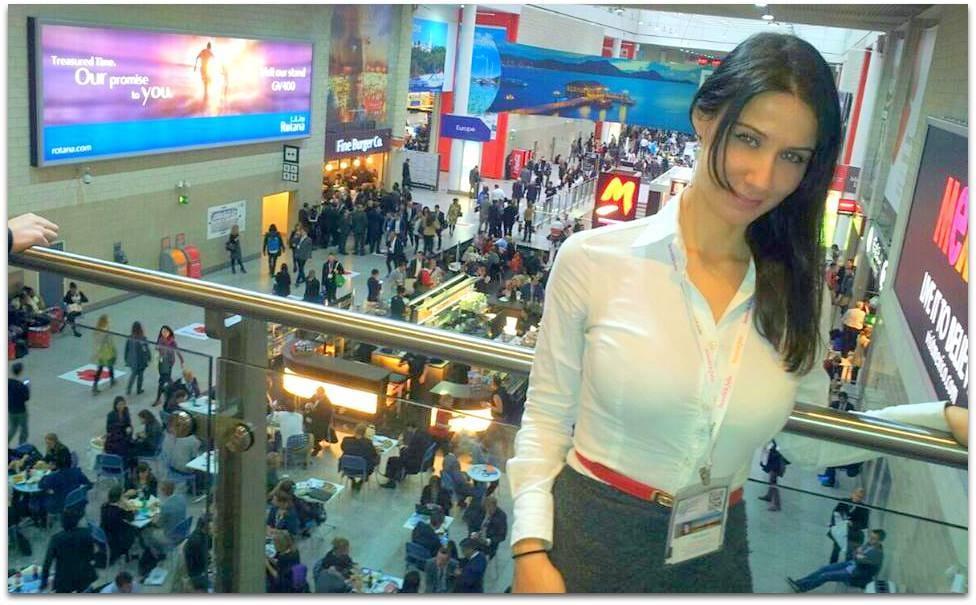 World travel market london 2013 press area