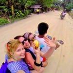 gopro, siargao island motorbike rides