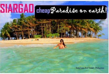 Siargao – Philippines: Surf and Beach Paradise Can Be Yours at 20$ a Day!
