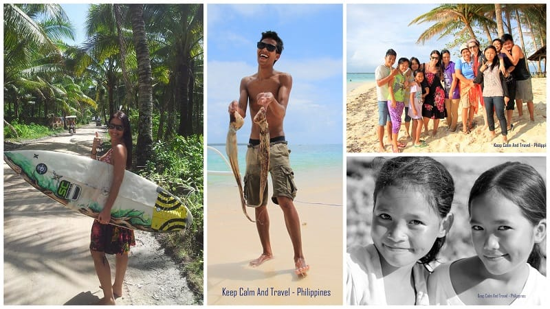 Siargao island, island hopping in siargao, guyam island, naked island, people in the philippines