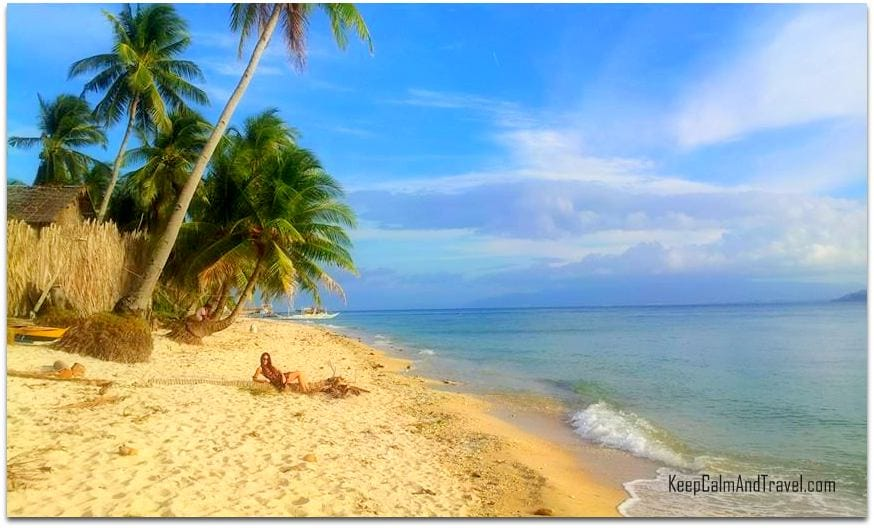 Carabao Island Philippines, deserted beach philippines, island of carabao in the philippines