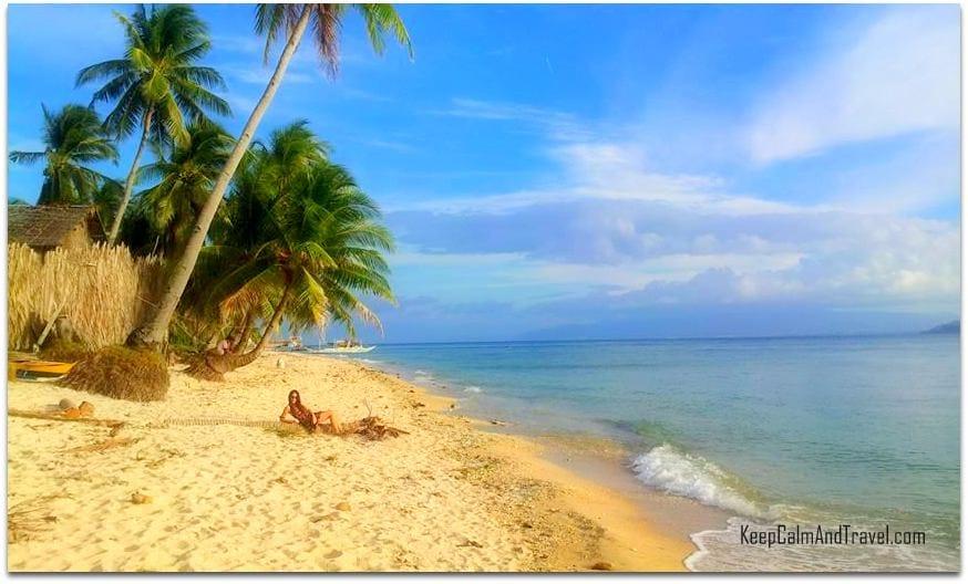 Carabao Island Philippines, deserted beach philippines, island of carabao in the philippines