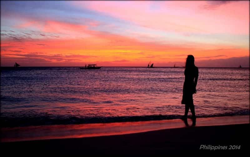 Boracay Island, white beach boracay, white beach boracay sunset, sunset on white beach boracay philippines, philippines beautiful sunset