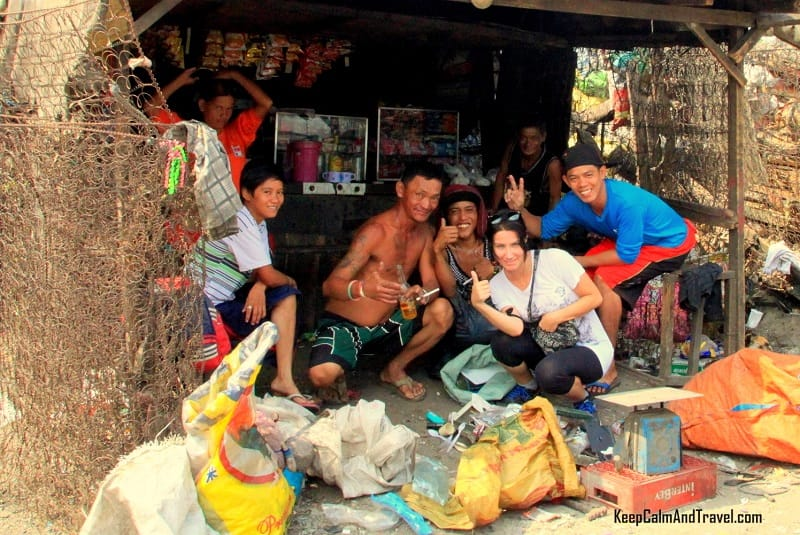 poor people in manila slums