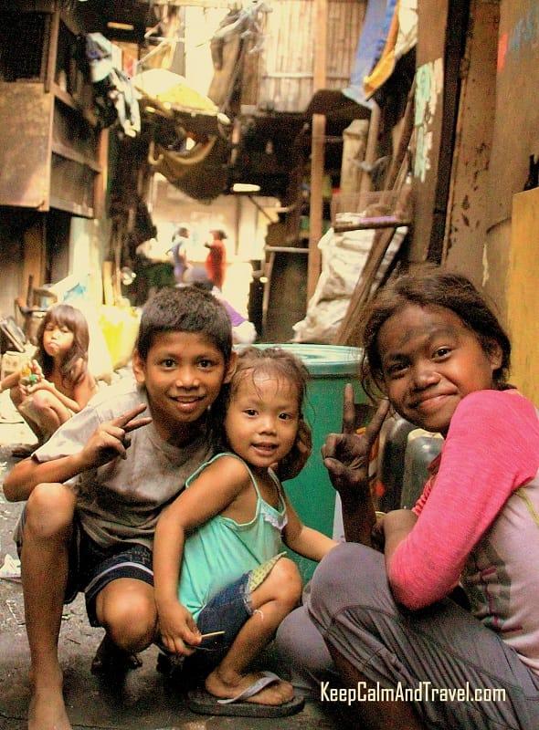 manila slums kids