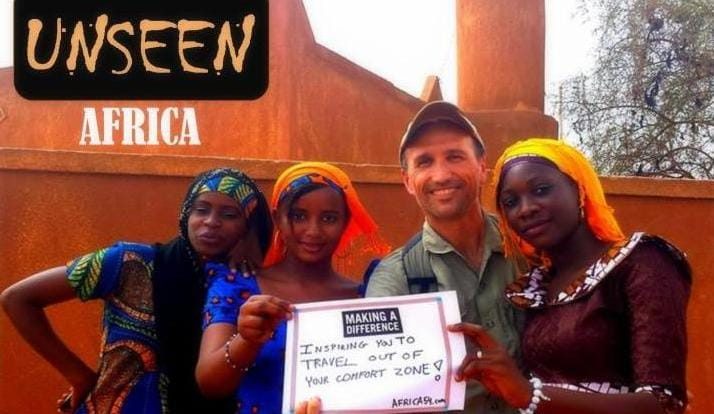 The unseen Africa, kickstarter project, Francis Tapon