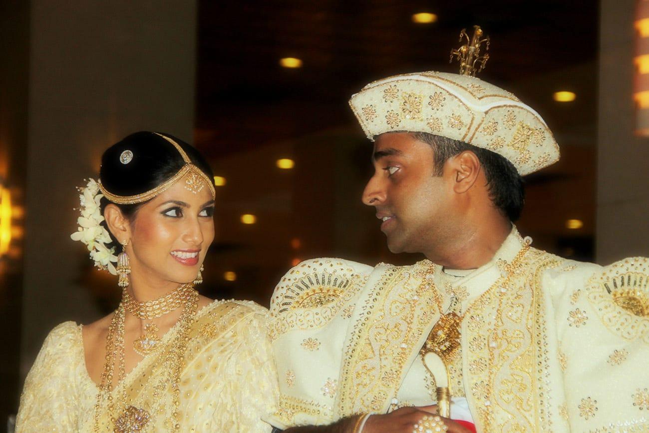 SRI LANKAN TRADITIONAL WEDDING