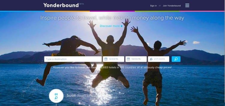 yonderbound travel cheap website