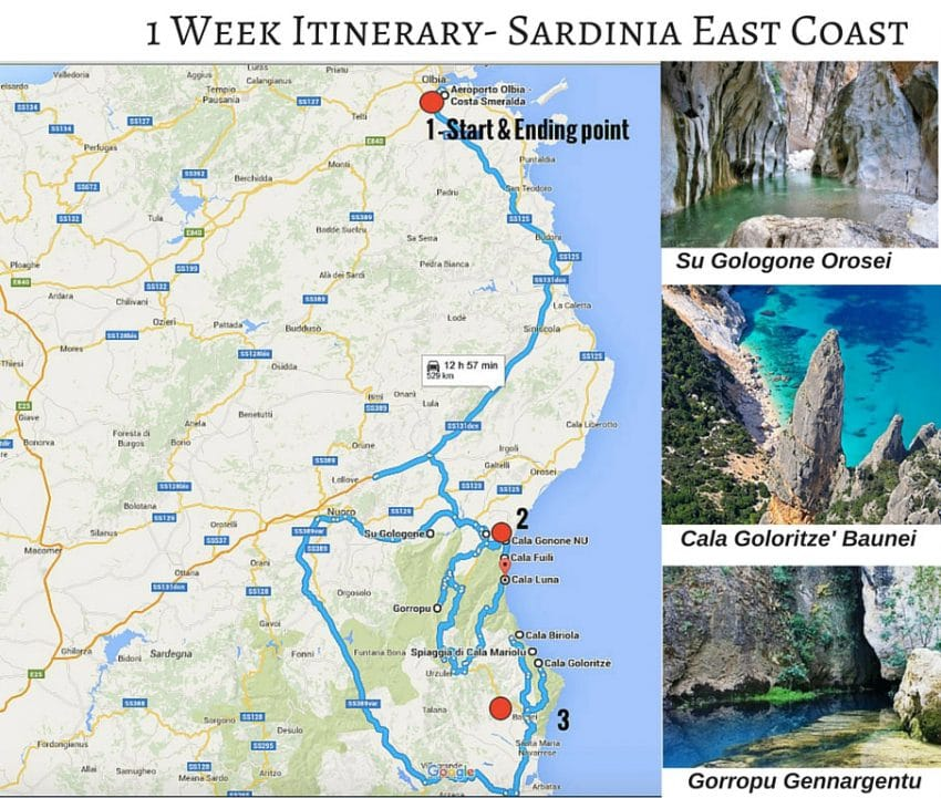 Sardinia_holidays_1_week_itinerary_sardinia_map_east_coast_Golfo_di_orosei_baunei_cala_goloritze_cala_mariolu_cala_biriola_su_gologone_su_gorropu_things_to_do_in_sardinia_best_hotels_accommodation_in_cala_gonone_baunei_sardinia