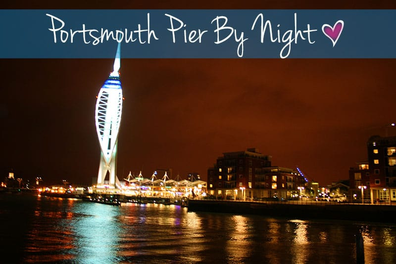 porthsmouth-pier-by-night-best-uk-places-to-visit-in-the-south-coast