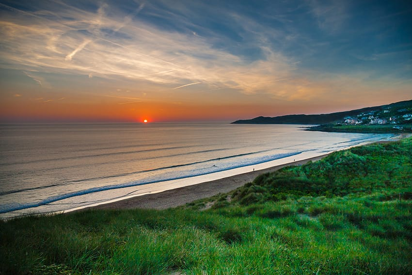 woolacombe beach-image attribution to Hughie O'Connor