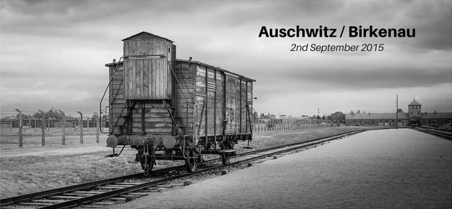 Auschwitz_Birkenau_main_entrance_concentration_camps_Picture_Image_black_and_white