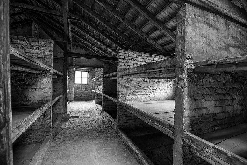 visit_Auschwitz_Birkenau_concentration_camps_holocaust_images_of_the_barracks