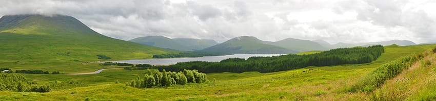 Loch_Tulla_panorama_best_top_road_trips_in_the_uk
