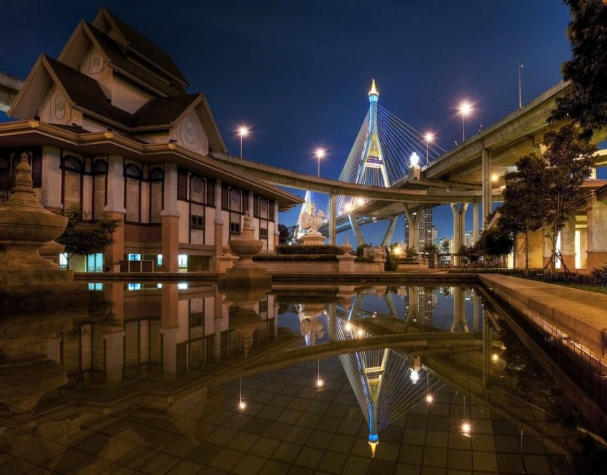 Bridge Bankok Photography