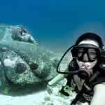 underwater-museum-cancun_mexico-scuba-diving-car