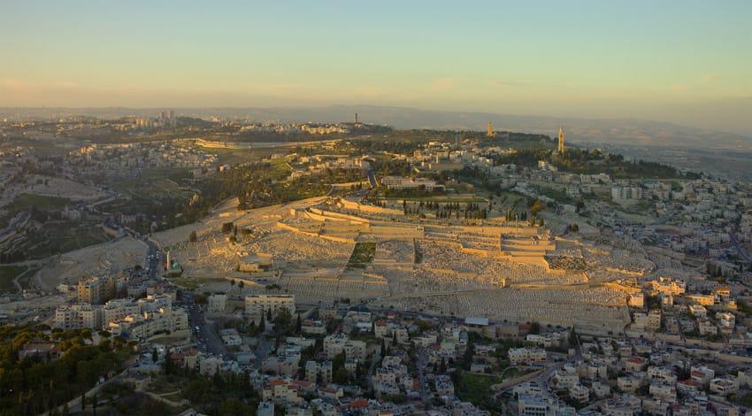 Israel_jerusalem-Aerial-Mount_of_Olives