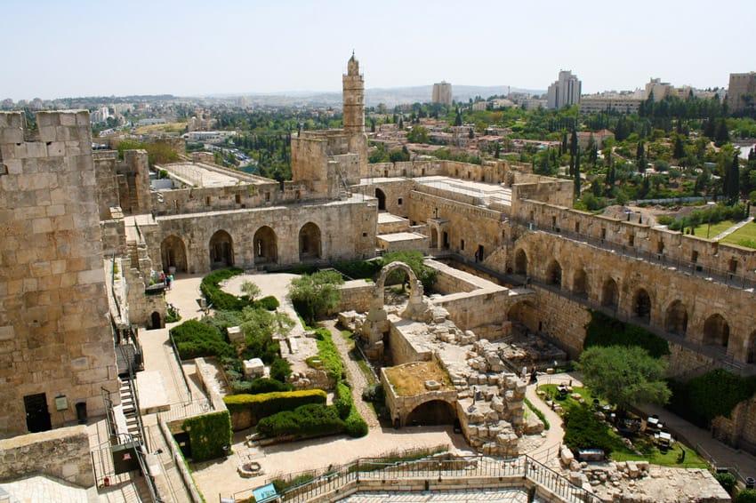 Jerusalem_the_citadel_The_Tower_of_David_Citadel
