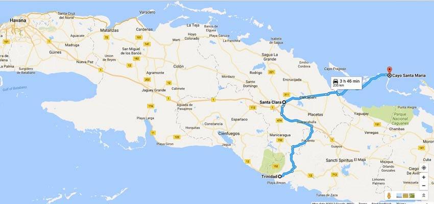 CUBA_MAP_trinidad_santa-clara_cayo-santa-maria_route_itinerary