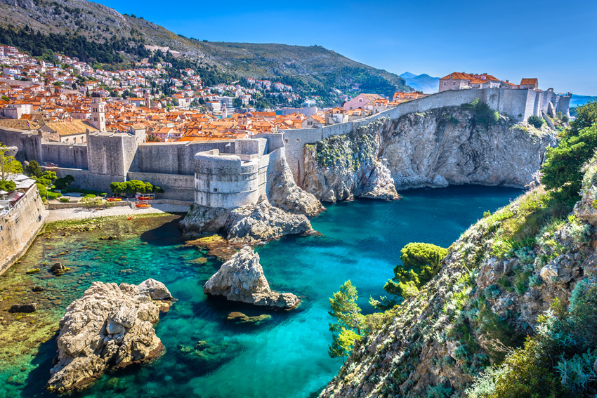 CROATIA-HOLIDAYS-DUBROVNIK-Aerial-view-at-famous-european-travel.