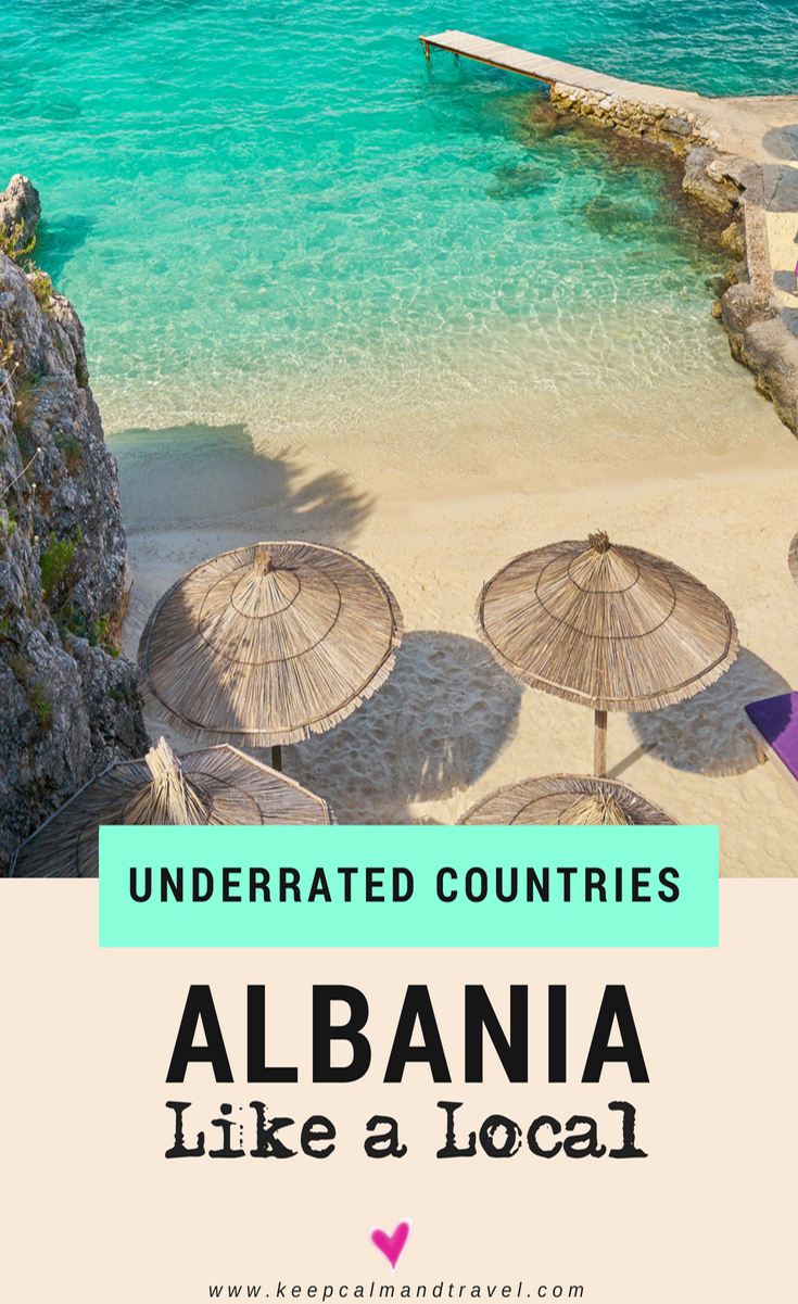 Albania is one of the most underrated countries in Europe. Amazing villages, mountains and things to do, plus a coastal area, the Albanian riviera that is truly stunning! #albania #europe #traveltips #travelguide