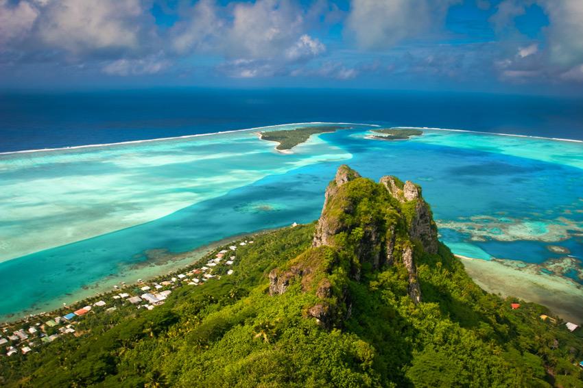 bora-bora-best_beaches_holidays-View-on-the-peak-mountain,-Maupiti,-French-Polynesia,-Society-Islands