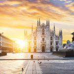 ITALY-TRAVEL-TRIP-Duomo-at-sunrise-Milan-Europe-italy