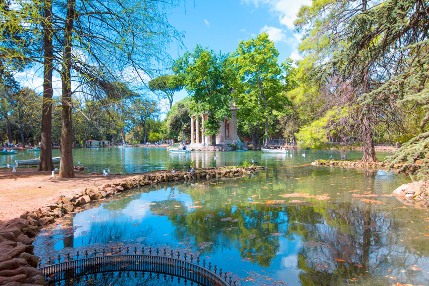 ROME-THINGS-TO-DO-AND-SEE--PINCIO-GARDENS-Villa-Borghese-Park-(18-century)-largest-Public-Park-in-Rome