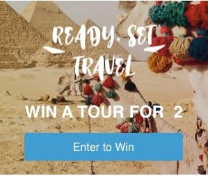 ENTER THE CONTEST FOR FREE AND WIN A FANTASTIC TRIP!