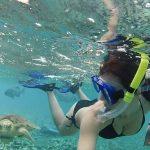 clelia-mattana-snorkeling-belize-tartaruga