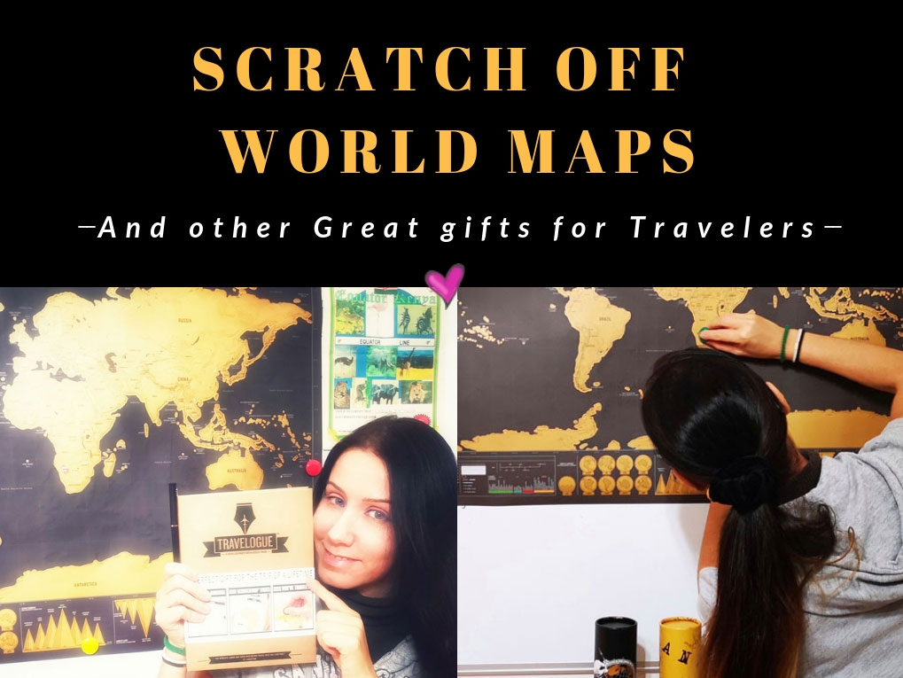 SCRATCH OFF WORLD MAPS & TRAVEL JOURNALS: Why They Are The