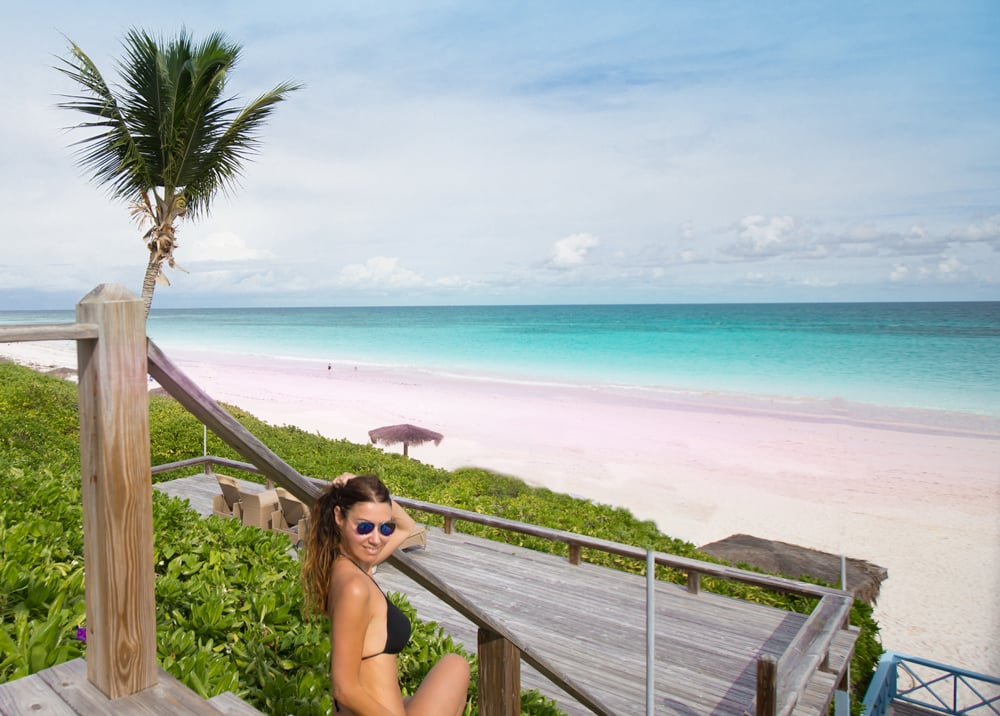 clelia-mattana-keep-calm-and-travel-pink-beach-bahamas
