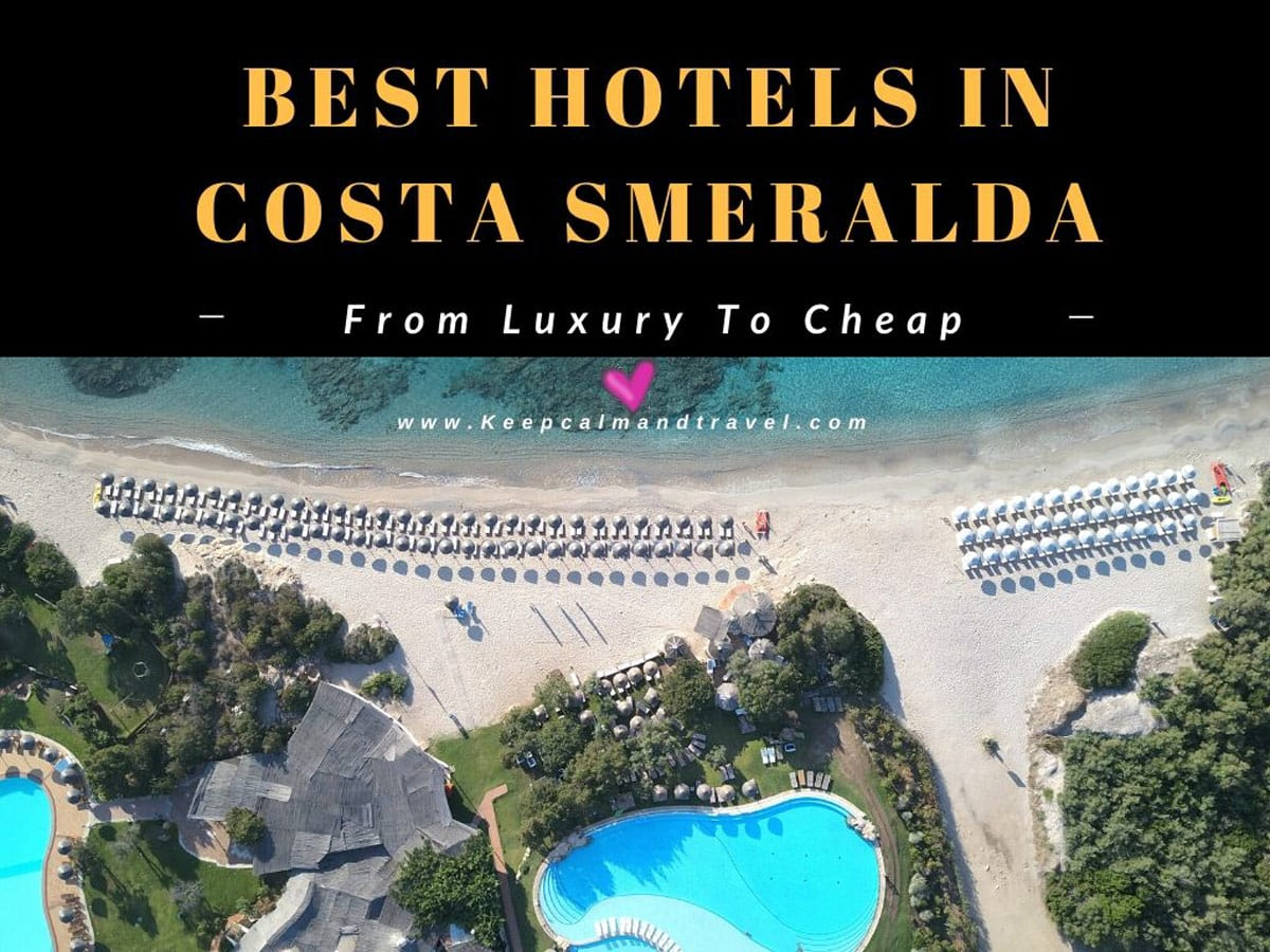 COSTA SMERALDA HOTELS: The best from Luxury To Cheap!