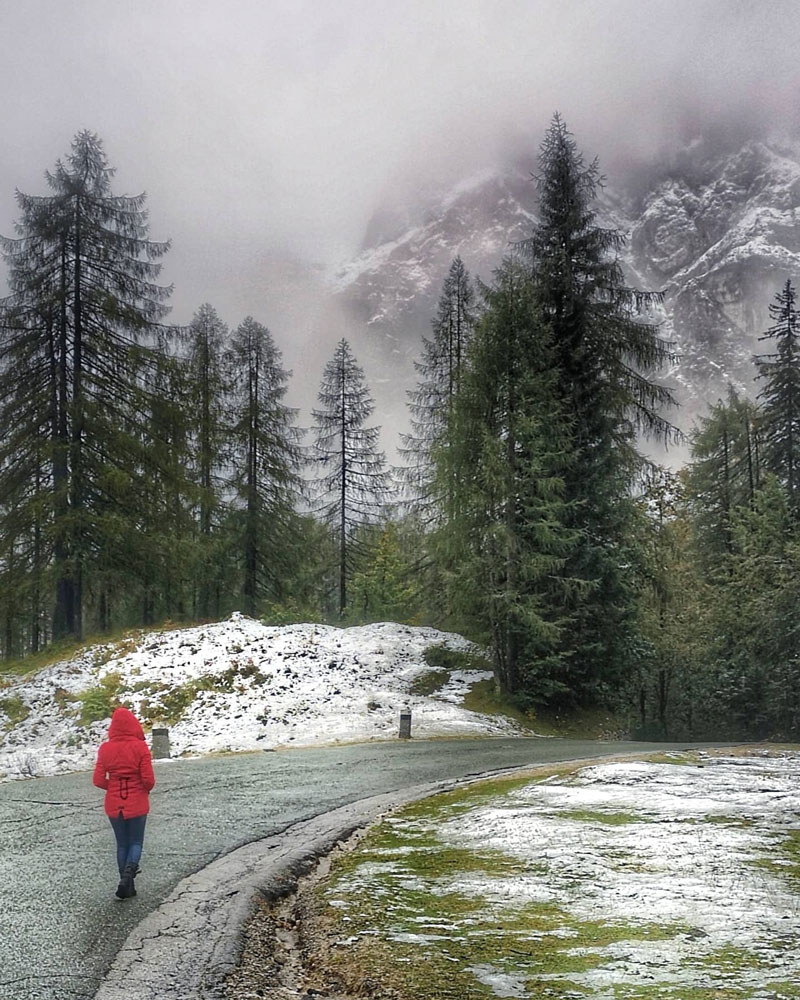 slovenia-itinerary-one-week-snow-street-to-vrsic-pass