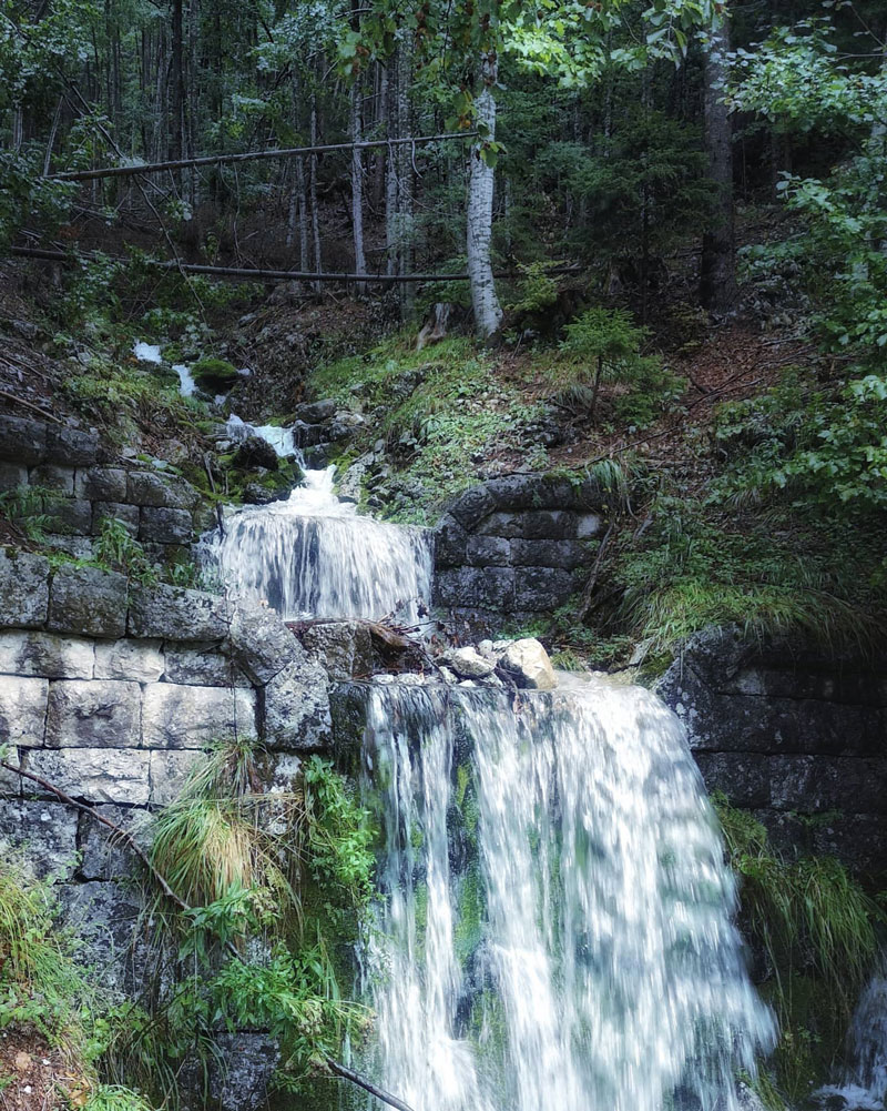 visit-slovenia-by-campervan-small-waterfall-on-the-way-to-vrsic-pass